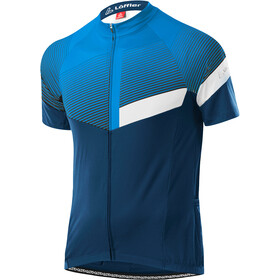 Löffler Stream Mid Full-Zip Bike Jersey Men, blue lake